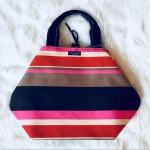 ❗️Kate Spade Striped Colorful Tote MSRP $348!